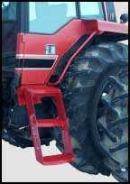 Extended Tractor Steps